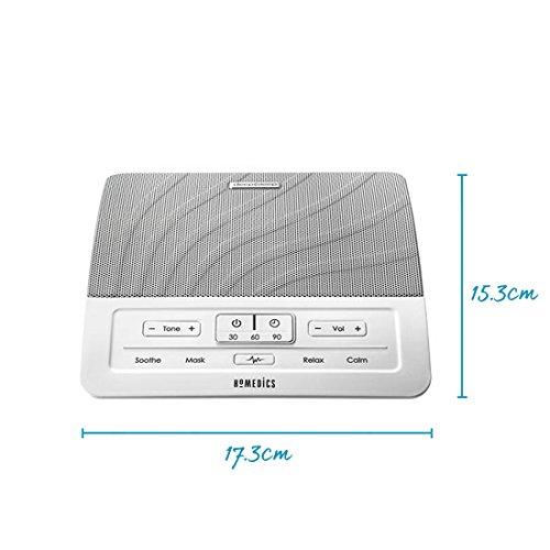 HoMedics Deep Sleep White Noise Sound Machine - Sleepless Nights