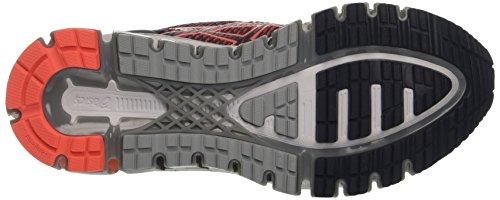 Asics Damen Gel-Quantum 360 cm Turnschuhe Grau (India Ink/flash Coral/midgrey)