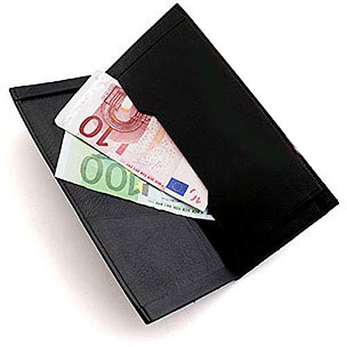 Bill Wallet (Himber Wallet Kunstleder, Switch Device, Austausch-Brieftasche, Tauschen Sie Geldscheine, Spielkarten oder Zettel direkt unter den Augen Ihrer Zuschauer aus, Zauberartikel)