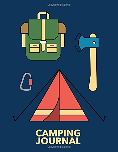 Camping Journal: Large Vacation and Travel Log Book with Writing Prompts to Capture Your Awesome Outdoors Trips (Adventure Explorer) por Freedom Journals