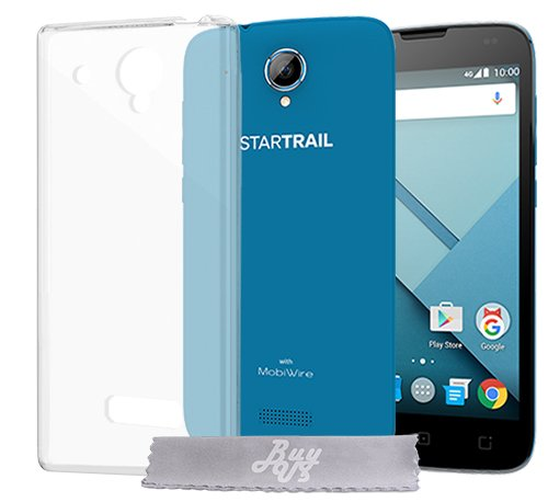 Coque Gel transparent INVISIBLE SFR Startrail 7 Startrail 6 , Coque de Protection en TPU avec Absorption de Choc Bumper et Anti-Scratch Startrail 7 Startrail 6
