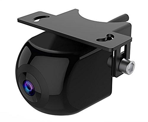 PARKVISION Fortgeschrittene Version Universalhalterung für Front- / Rückfahrkamera, 180-Grad-Multiview-Überwachungskamera mit Einstellbarer Standlichtlinie und 6 Anzeigemodi