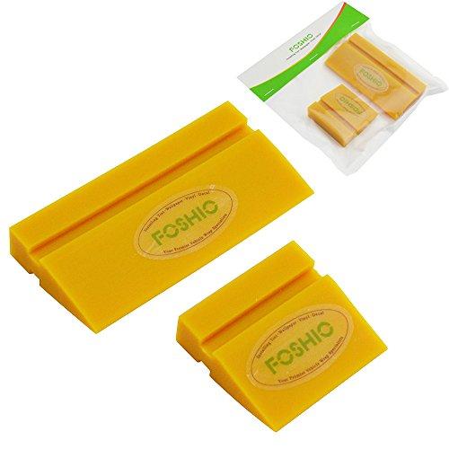 FOSHIO Mini Rakel Fenster Film Werkzeuge, Gummirakel Wasser Klinge Decal Wrap Applikator Auto Home Tint