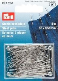 Prym, Stahlstecknadeln, 30x 0,5mm, 15g