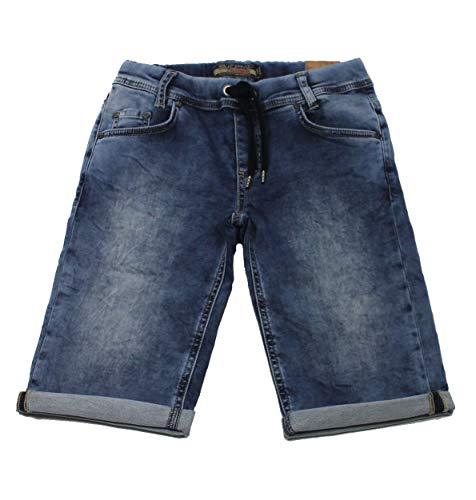 blue effect boys Bermuda sweat denim Jogging Shorts (2171-4547/9895) blue Gr. 134 Boys Blue Denim