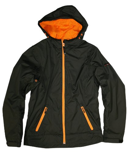 Northland Professional Damen Outdoorjacke HOOD CHECK black