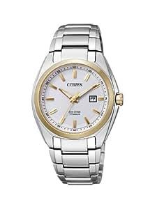 Citizen Damen-Armbanduhr XS Super Titanium Analog Quarz Titan EW2214-52A