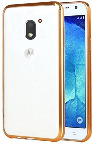 Moto E3 Back Cover Moto E3 Power Back Cover Golden Chrome
