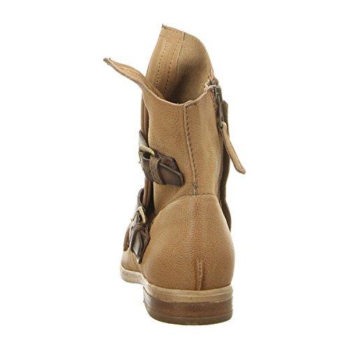 Mjus Damen 884210-0201 Biker Boots canapa/noce