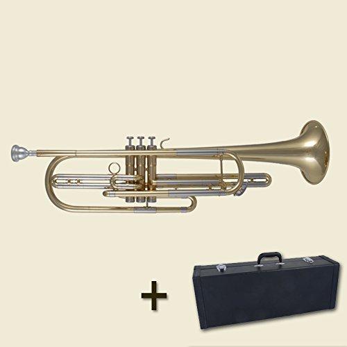 Marching Bariton Gold Mit Koffer Und Mundstück Sporting Basstrompete