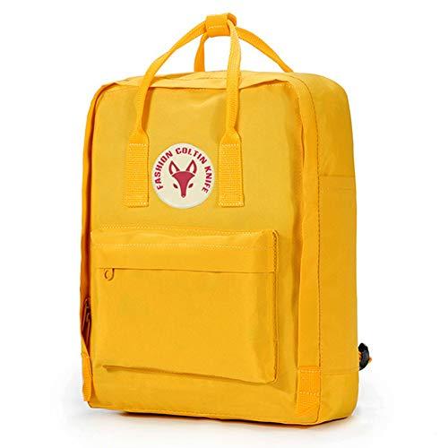 Rucksäcke Schulrucksack für Mädchen, Canvas Rucksack Backpack Blau Schwarz Leinwand Schulranzen für Mädchen Schultasche Segeltuch Rucksack (R,M) (Vans Für Cute Mädchen)