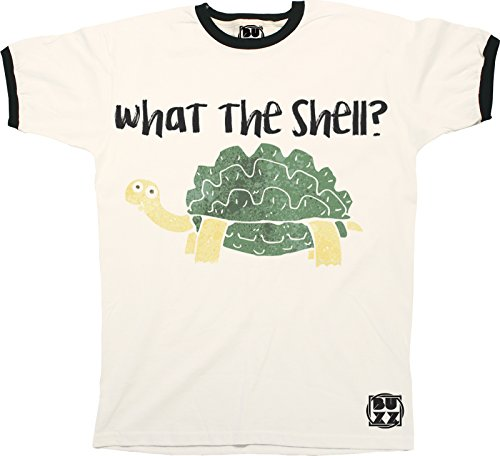 Shell-jugend-t-shirt (What The Shell? TURTLE T-Shirt Mens Ladies Unisex Fit Hipster Top)