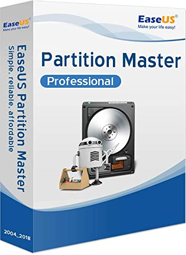 EaseUS Partition Master PRO WIN (Product Keycard ohne Datenträger)-lifetime