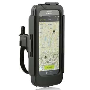 Wicked Chili Rain Case 2.0 für Samsung Galaxy S4 i9500 i9505 Fahrradhalterung (Ladekabelanschluss, Kopfhöreranschluss, Spritzwasserschutz, Hochformat / Querformat)