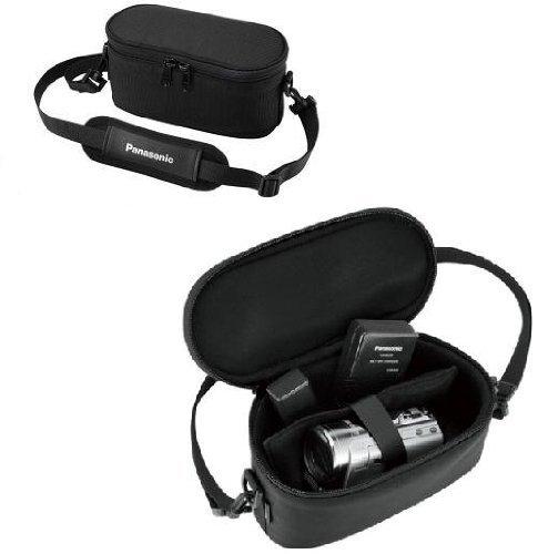 Original Panasonic Robuste Softtasche Tragetasche Tasche Camcordertasche, Farbe schwarz, passend für Panasonic Video Camcorder HC-V10 HC-V100 HC-V110 HC-V210 HC-V500M HC-V500, HC-V510 HC-V520 HC-V707 HC-V727 HC-X800 HCX-810, HC-X900M HC-X909 HC-X900