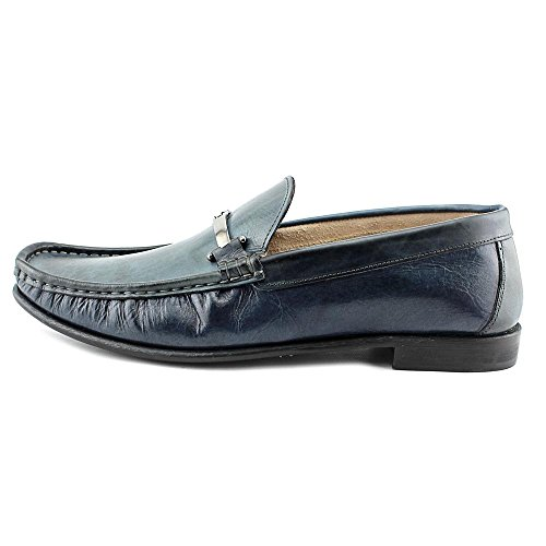 Kenneth Cole NY In The Zone Herren Leder Slipper Blue
