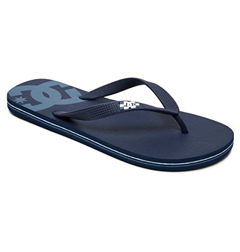 DC Shoes Spray - Flip-Flops - Sandalen - Männer - EU 39 - Blau (Sandalen Dc Shoes)