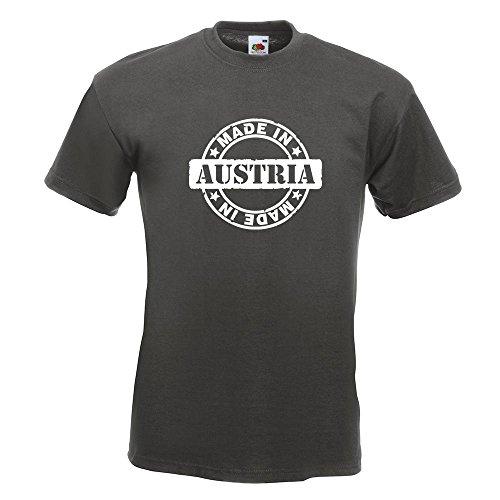KIWISTAR - Made in Austria T-Shirt in 15 verschiedenen Farben - Herren Funshirt bedruckt Design Sprüche Spruch Motive Oberteil Baumwolle Print Größe S M L XL XXL Graphit