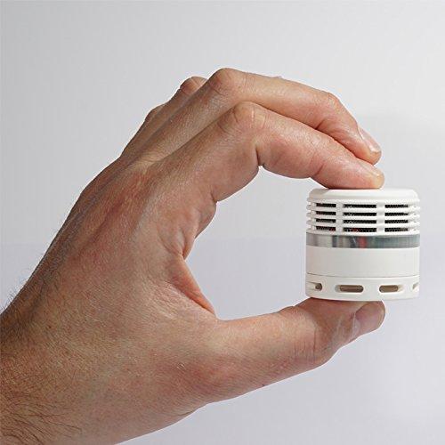 Mini Rauchmelder Weiß - 10 Jahre Batterie