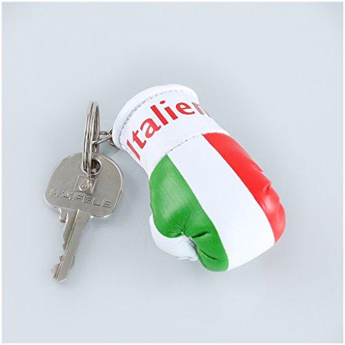 Schlüsselanhänger / Anhänger für Schlüssel - ITALIEN - Boxhandschuh mit Schlüsselring, 7 cm groß