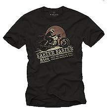 Ropa Moto Hombre - Camiseta Cafe Racer originales - R100 Faster Faster