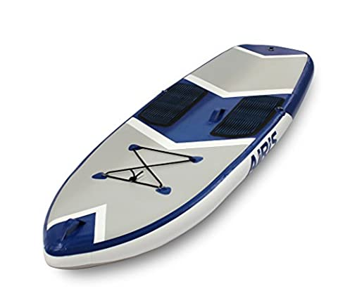 Walker Bay ARIS SUP 9 Series Hard Top Inflatable Board, Small, Blue/White