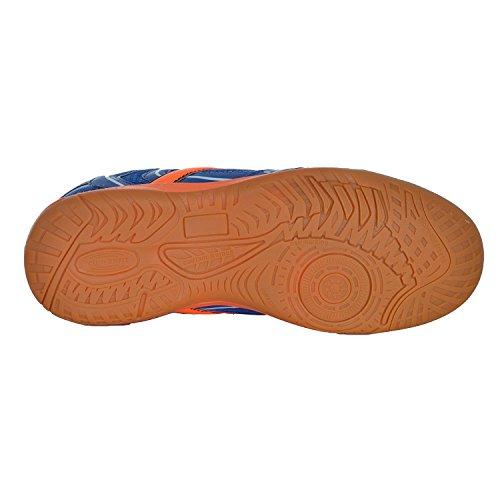 Ind-Schuh Courtplayer Jr. - blau/orange Blau