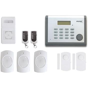 Phenix AL-800 Système d'alarme sans fil avec transmetteur téléphonique