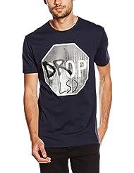 Antony Morato Girocollo Stampa Drop Lsd, T-Shirt Homme
