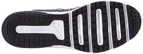 Nike Air Max Sequent 2 Gs, Scarpe Running Bambino Nero (Black/white/dk Grey/wolf Grey)