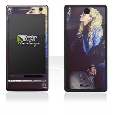 DeinDesign HTC Touch Diamond 2 Case Skin Sticker aus Vinyl-Folie Aufkleber Frau Föhn Kamm Touch Diamond Von Htc