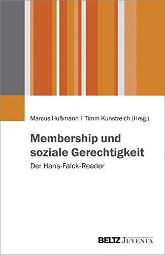 Membership und soziale Gerechtigkeit: Der Hans-Falck-Reader