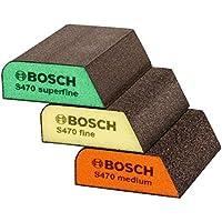 Bosch 2608621252abrasivos esponja Set–Azul (3unidades)