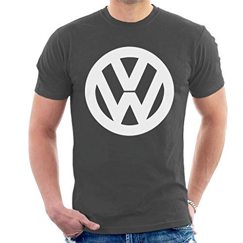 hite VW Logo Men's T-Shirt ()