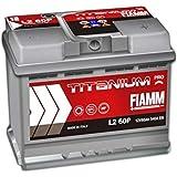 Fiamm L2 60P Batteria Auto Titanium Plus 12V 60Ah 540A/EN