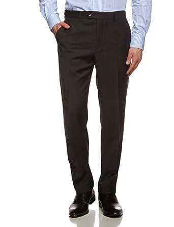 Tommy Hilfiger Tailored Herren Anzughose Brooks STSSLD99001, Einfarbig, Gr. 26, Grau (Anthrazit 028)