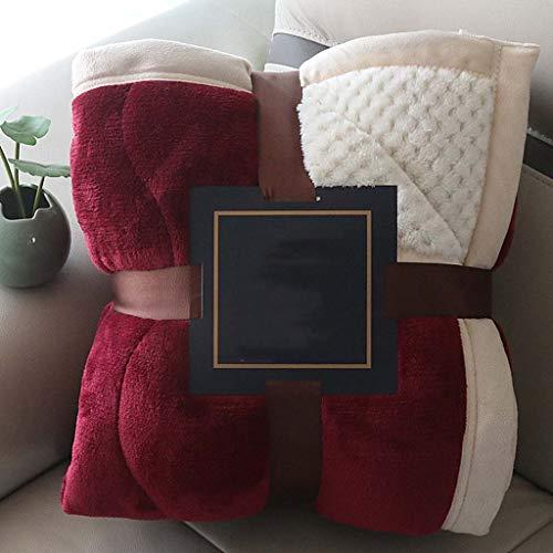 Coperta in flanella addensata coperta in pile corallo a doppio strato coperta per letto matrimoniale invernale aggiungi cotone