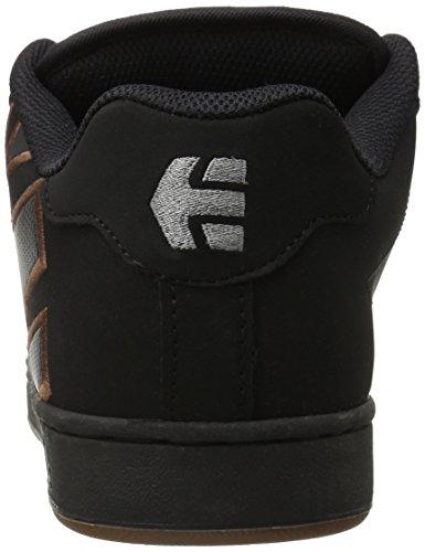 Etnies Fader, Scarpe da Skateboard Uomo Nero (Black (Black/Silver/Gum569))