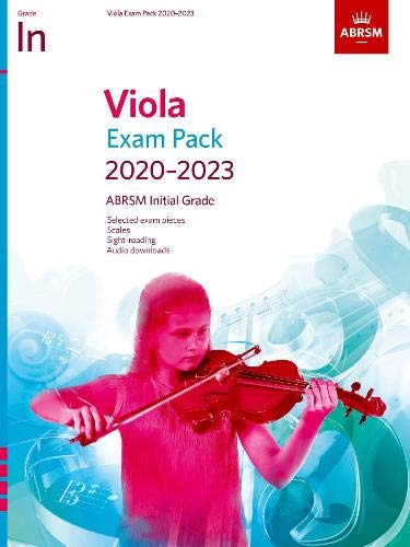 Viola Exam Pack 2020-2023, Initial Grade: Score & Part, with audio (ABRSM Exam Pieces) Grade Audio