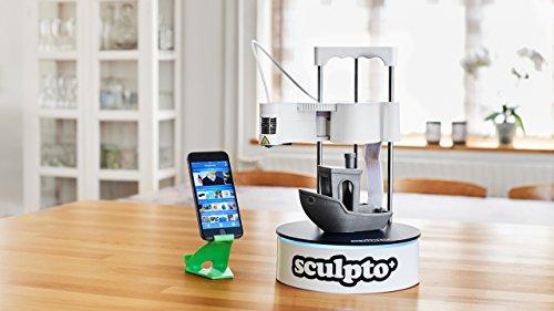 Sculpto+ 3D Drucker, komplett montiert mit Wi-Fi, iOS und Android Konnektivität - Lautlos - Plug&Play Drucker, großen Bauvolumen - 6