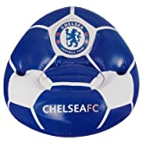 Official Chelsea FC Inflatable Chair - A Great Gift / Present For Men, Boys, Sons, Husbands, Dads, Boyfriends For Christmas, Birthdays, Fathers Day, Valentines Day, Anniversaries Or Just As A Treat For Any Avid Football Fan