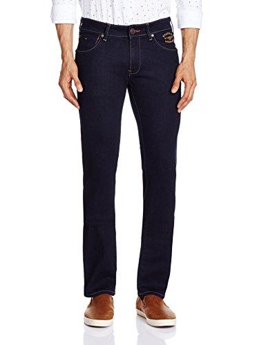 Wrangler Men's Skanders Slim Fit Jeans(8907222649180_W15271W2298B_36W x 33L_Rinse Wash)