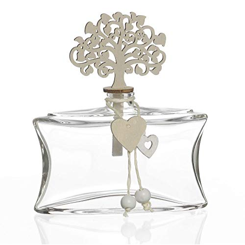 Publilancio srl profumatore in vetro con albero della vita bomboniera matrimonio