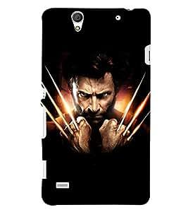 PRINTSHOPPII WOLVERINE FAN Back Case Cover for Sony Xperia C4 Dual E5333 E5343 E5363::Sony Xperia C4 E5303 E5306 E5353