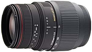 Sigma 70-300 mm F4,0-5,6 DG APO Makro-Objektiv (58 mm Filtergewinde) für Minolta / Sony Objektivbajonett