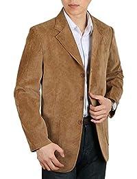 Saoye Fashion Chaqueta para Hombre De Pana De Algodón De Pana De Moda Ropa para Hombre Chaqueta De Abrigo Chaqueta De Hombre De Corte Slim Chaqueta Casual Blazer