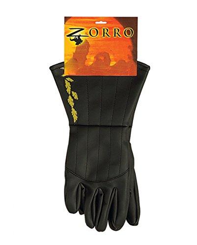 Handschuhe für Zorro Kostüme (Zorro Handschuhe)