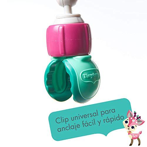 Imagen para Tiny Love Sunny Stroll Tiny Princess Tales - Arco de juegos con sonajero y actividades, a partir de 0 meses, clips universales compatibles con cualquier cochecito, carrito o silla de automóvil