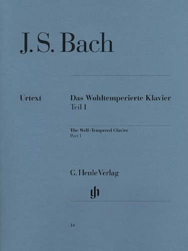 Clavier Bien Tempéré Volume 1 BWV846-869 - Piano