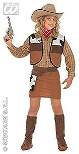 WIDMANN Widman - Disfraz de vaquera para niña, talla 11-13 años (36768)